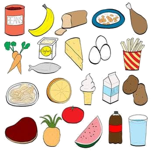 Healthy Food Eating Foods Clipart Free Images At Vector Png.
