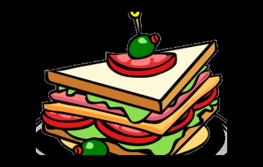 Healthy Food Clipart Transparent Background Sandwich Clip Art Png.