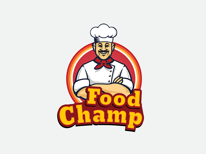 Food Champ Company Logo Part 1 by ThemesBoost on Dribbble.