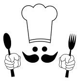 Cooking Clip Art Black and White.