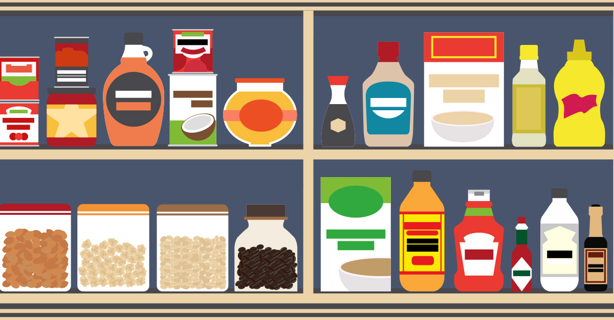 How to Stock a Food Pantry.