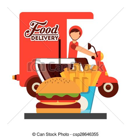 Food delivery clipart 1 » Clipart Station.