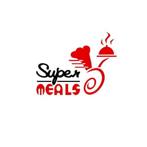 LOGO FOR ORDERING FOOD DELIVERY SERVICE.