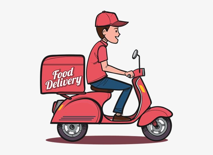 Download Uber For Food Delivery.