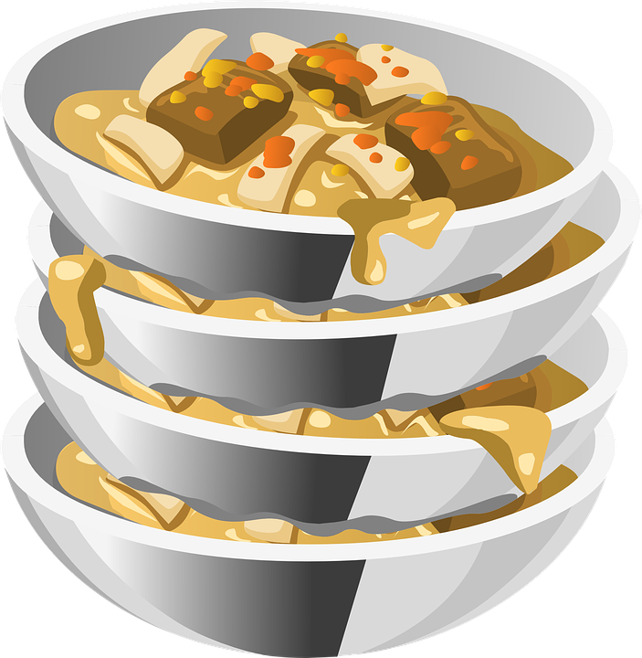 Free vector graphic: Dishes, Bowls, Food, Cleaning.
