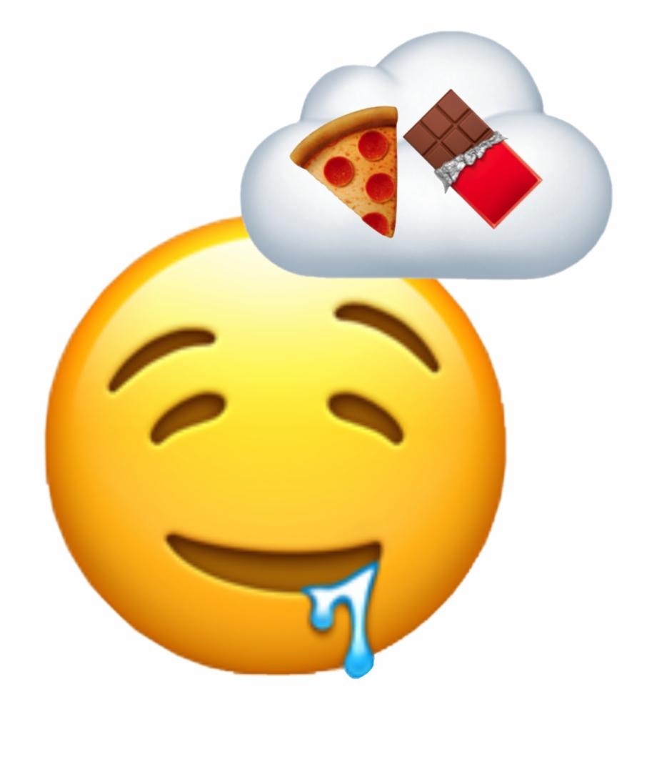 emoji #drool #droolemoji #food #foodemoji #thinking.