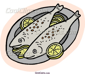 Dinner Food Clipart.