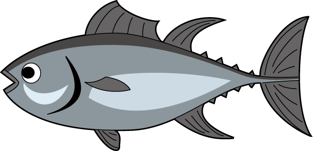 Raw Fish Clipart.