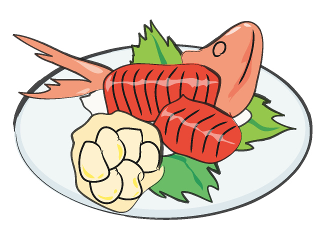 Raw Fish Clipart.