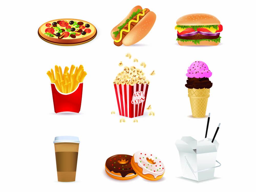 Cartoon Images Food.
