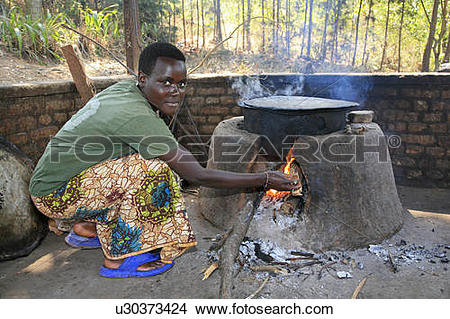 Stock Photo of food burundi agakura youth project in gitera food.