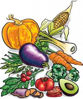 Food Garden Clipart.