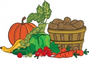 Food Garden Clipart.