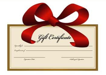 Gift Certificate: Barry Good Food.