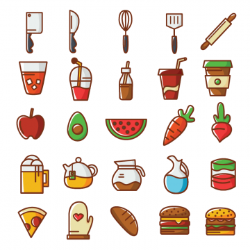 Food Icon Png, Vector, PSD, and Clipart With Transparent Background.