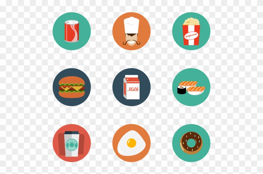 Food Icons, 4,500 Free Files In Png, Eps, Svg Format Clipart.