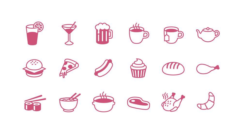 Food Icons Png, Png Collections At Sccpr #332915.