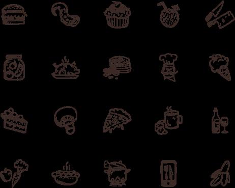 Tasty Icons — 500 hand.