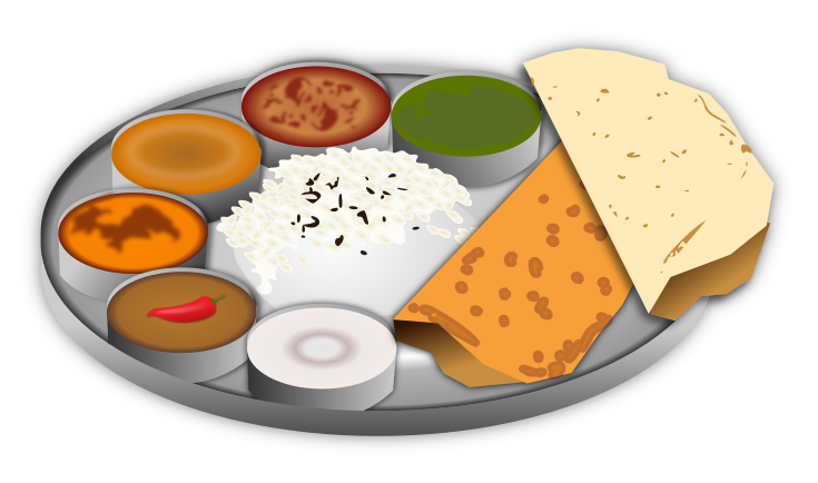 Indian Food Clipart.
