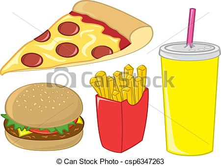 Food Items Clipart.