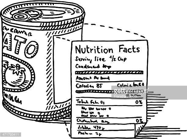 food labels clipart #18