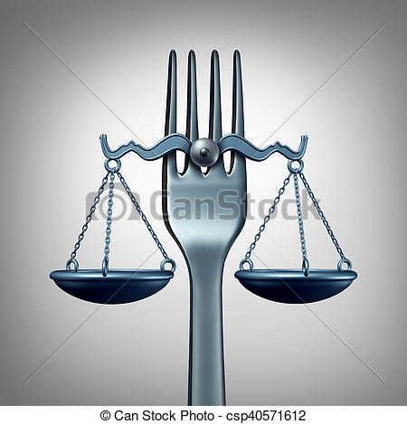 Clipart of Food Law.