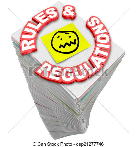 Rules And Laws Clipart.