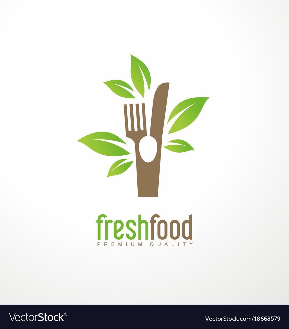 Fresh food logo design.