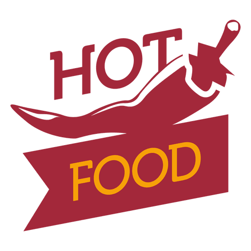 Hot food logo.