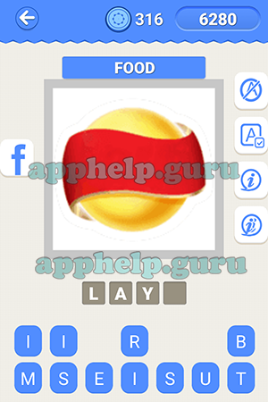 Logo Quiz Ultimate (Logo Quiz Icomania): Level 8 Food Lv1.