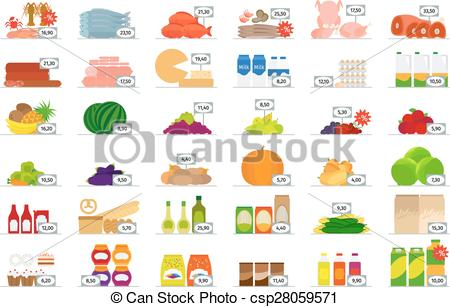 Food market clipart #7