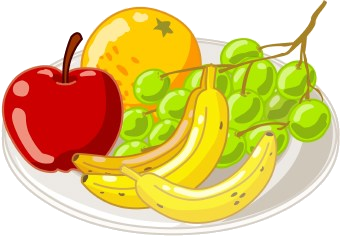 Healthy Food Plate Of Clipart Library Free Images Transparent Png.