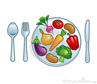 89+ Plate Of Food Clipart.