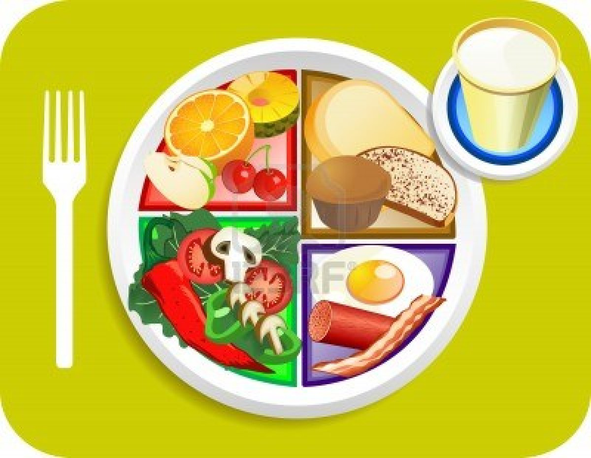 Food plate clipart 3 » Clipart Station.
