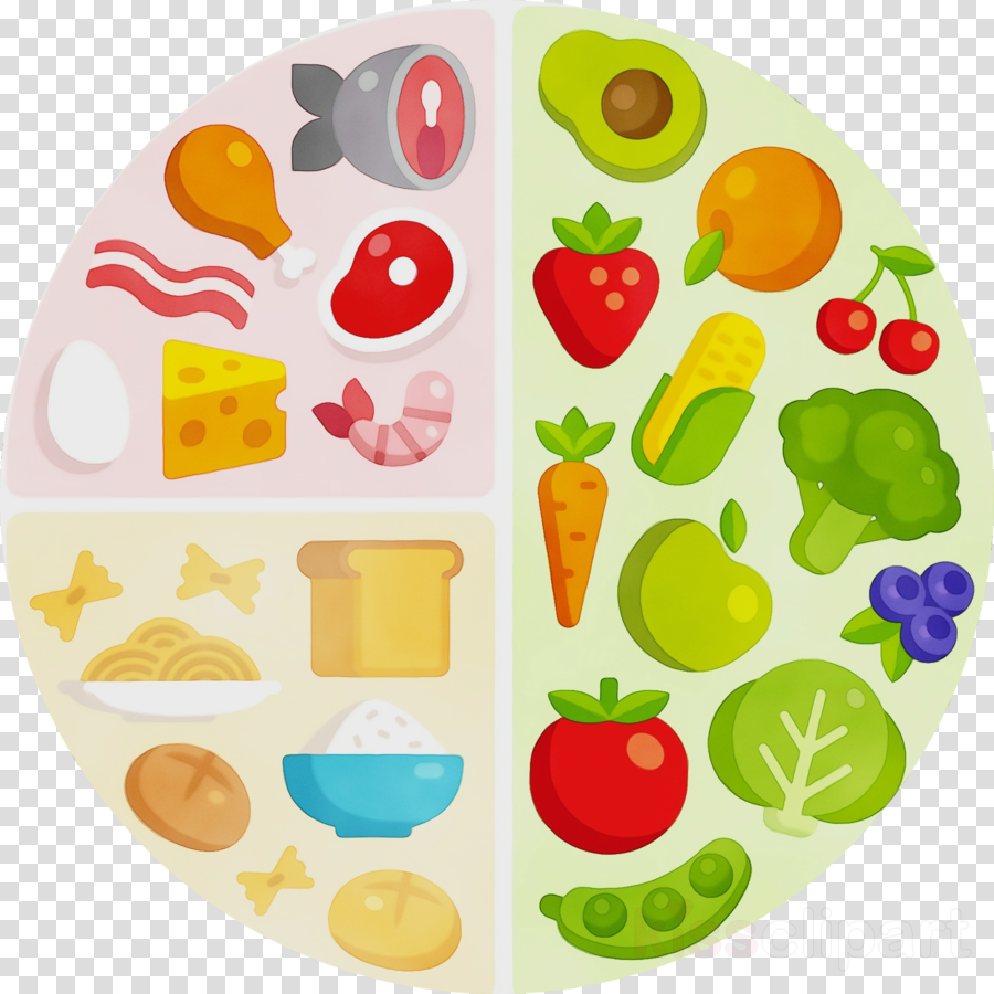food group clip art plate clipart.
