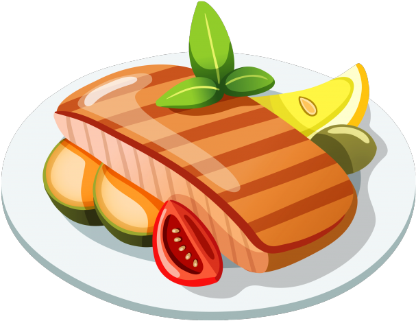 Dinner Plate Clipart Main Course.