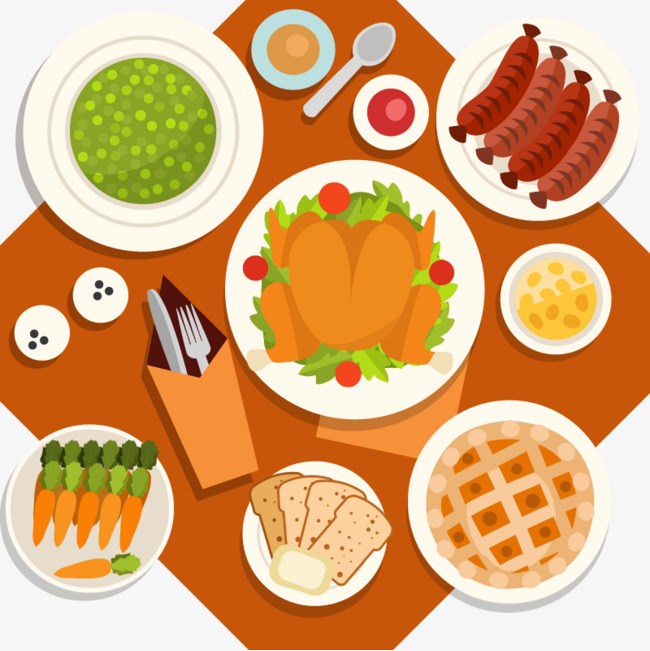 Food table clipart 8 » Clipart Portal.