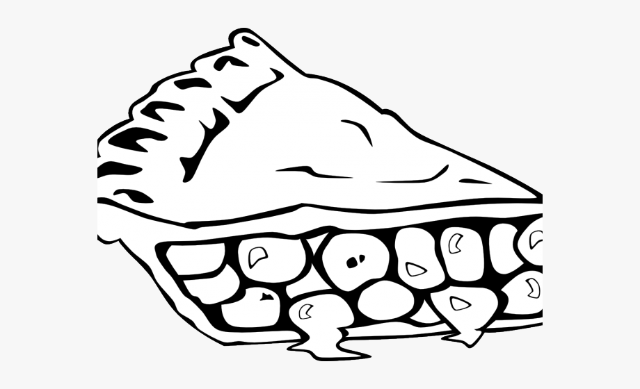 Healthy Food Clipart Outline.