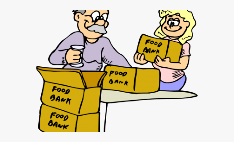 Food Bank Clipart.
