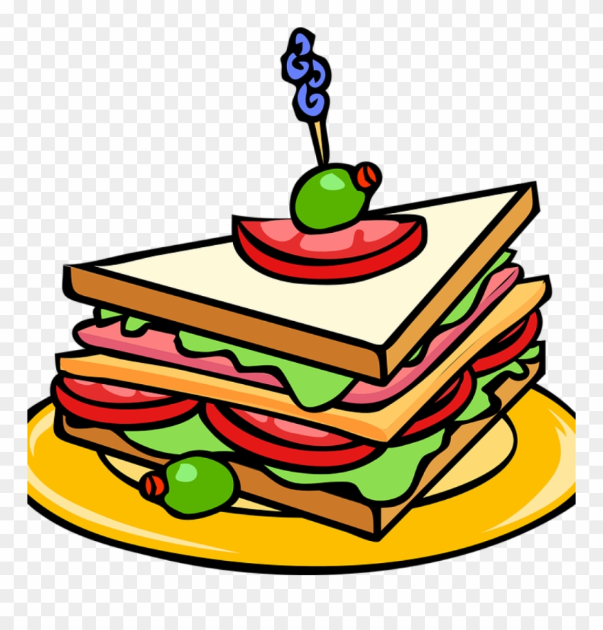 Party Food Clipart Party Food Clipart Sandwich Food.