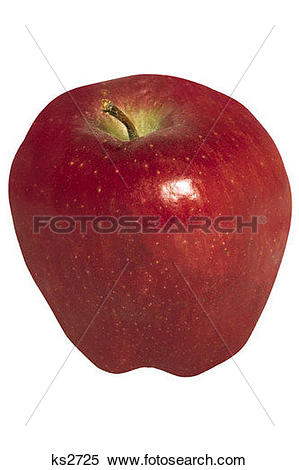 Stock Image of Food Icons, Apple, Clipping Path, Education, Food.
