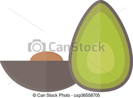 Food pieces clipart.