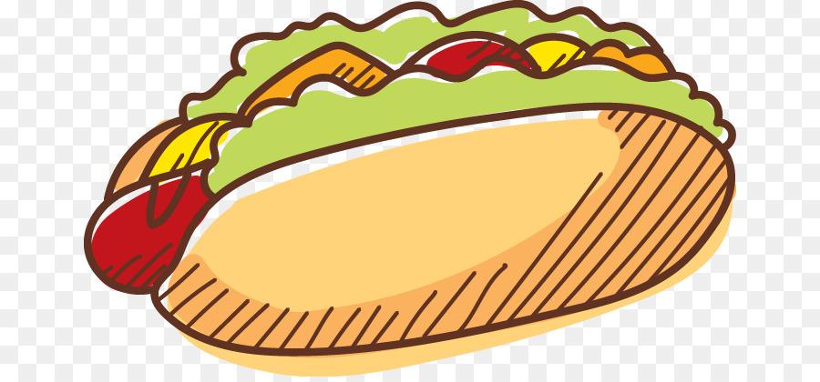 Hamburger Hot Dog Fast Food.