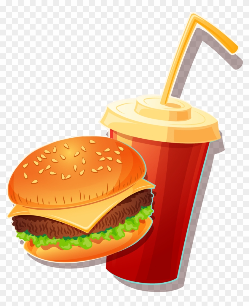 Fast Food Vector As Well As Fast Food Banner Vector.