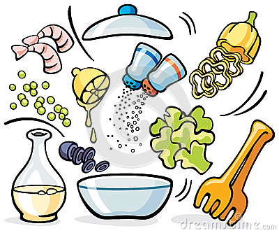 Food prep clipart.