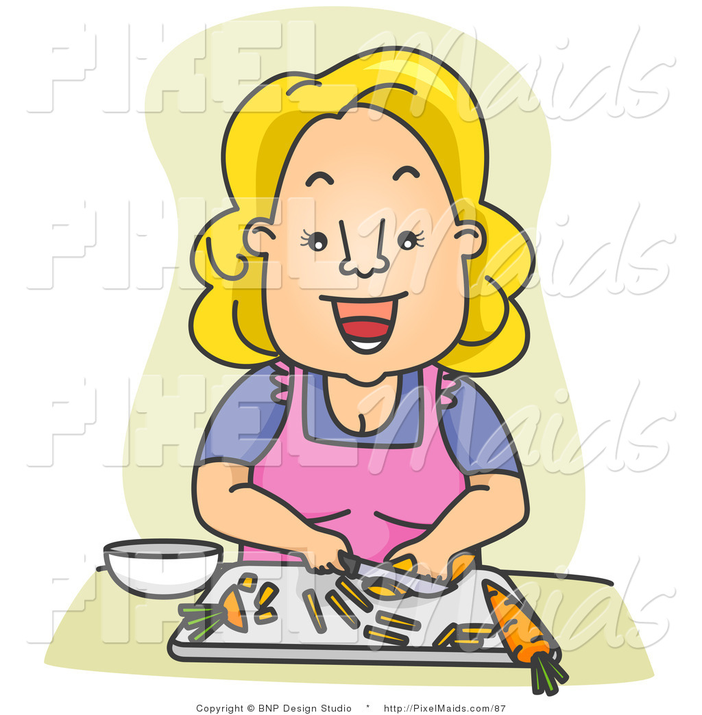 Royalty Free Food Preparation Stock Maid Designs.