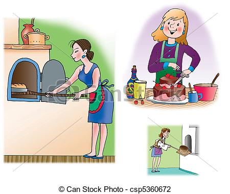 Preparing food Illustrations and Clip Art. 15,379 Preparing food.