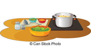 Food preparation Clipart and Stock Illustrations. 12,315 Food.