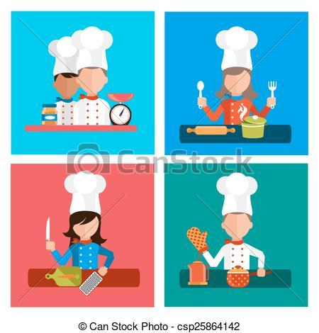 Food Preparedness Clipart.