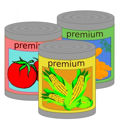 Canned Food Clip Art Download.